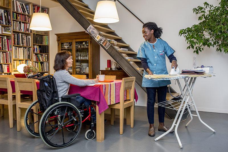 Assistance aux personnes en situation de handicap